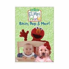 Elmo's World - Babies, Dogs & More (DVD, 2002) *FREE SHIPPING*