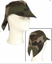 French army surplus woodlanc camouflage field cap / hat