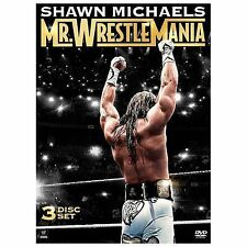 NEW WWE: Shawn Michaels - Mr. Wrestlemania (DVD, 2014, 3-Disc Set)