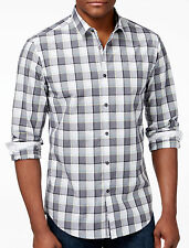 NWT Hugo Boss Green Label By Hugo Boss Modern Fit Plaid Long-Sleeve Shirt