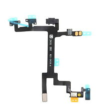 Power Mute Volume Button Switch Connector Flex Cable For Apple iPhone 5 KG