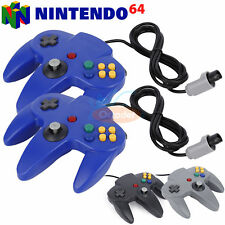 1× 2× Long Controller Game System Pad Joystick for Nintendo 64 N64 System