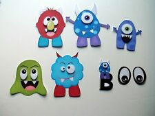 3D - U Pick - CM6 Monsters Scrapbook Card Embellishment