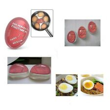 Egg Perfect Color Changing Timer Yummy Boiled Eggs + Spring Wire Egg Cup KG