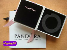NEW Pandora Jewellery Bracelet Gift Box & Jewellery Gift Bag with Pink Ribbon
