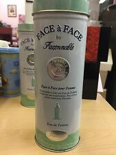 FACE A FACE BY FACONNABLE POUR FEMME-EDT-SPRAY-5 OZ-150 ML-AUTHENTIC-FRANCE