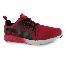 Puma Carson Inno Running Shoes Womens Red/Black Run Fitness Trainers Sneakers