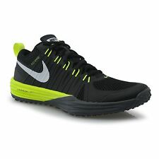 Nike Lunar TR1 Fitness Training Shoes Mens Black/Volt Grey Gym Trainers Sneakers