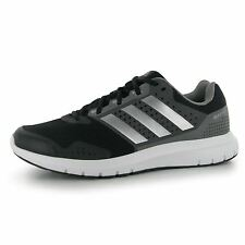 Adidas Duramo 7 Running Shoes Mens Black/Grey/Silver Fitness Trainers Sneakers
