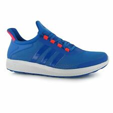 Adidas Climachill Sonic Bounce Running Shoes Mens Blue/Red Trainers Sneakers