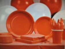 Paper Plates, Napkins, Cups Cutlery, Party Ware Wedding, Party color: RED