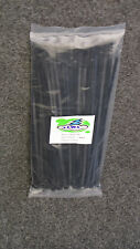 CABLE TIES 300 X 4.8 MM BLACK NYLON PACK OF 100  FOR ELECTRICAL FOR TRADE USE.