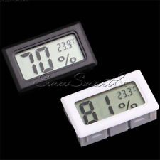 Indoor Mini Digital LCD Thermometer Hygrometer Humidity Temperature Meter New