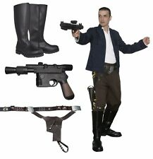 Star Wars Han Solo Costume Bundle, Belt + Boots Empire Film Set Quality from UK