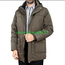 Mens DAD Military Cotton Duck Down Hooded Jacket Coat Winter Warm Outwear 4XL