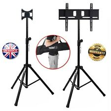 Gorilla Portable Tripod LED/LCD TV Floor Exhibition Stands with Mounting Bracket