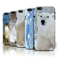 STUFF4 Back Case/Cover/Skin for Apple iPhone 6S/Arctic Animals
