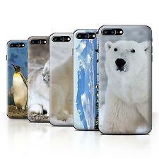 STUFF4 Back Case/Cover/Skin for Apple iPhone 7 Plus/Arctic Animals