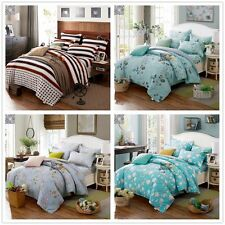 Nwe 3PCS 100% Cotton Twin Full Queen King Size Duvet/Quilt Cover Bedding Set 3pc