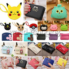 Womens Wallet Coin Card Holded Pouch Purse Zip Handbag Cute Small Mini Bag Gifts