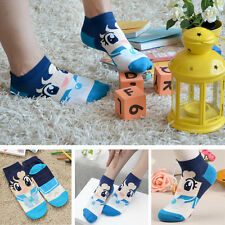 Pattern Woman Girl Cute Cotton Socks Spring Autumn Fashion 6 Color Anime Costume