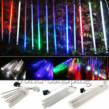20/30/50cm Meteor Shower Falling Rain Snow Drop Icicle Xmas Party String Lights