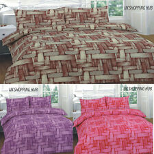 Duvet Cover All Size with Pillow Case Quilt Cover Bedding Set Single Double King