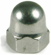 Stainless Steel Cap Acorn Hex Nuts UNC 1/2-13, Qty 100