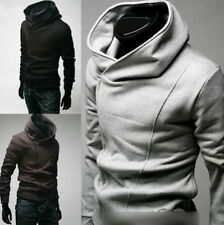 Mens Fashion Slim Fit Sexy Top Designed Hoodies Jackets Coats 3 Color 5 Size