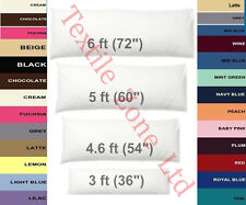 BOLSTER PILLOW CASE COVER - PREGNANCY MATERNITY ORTHOPEDIC SUPPORT PILLOW COVERS