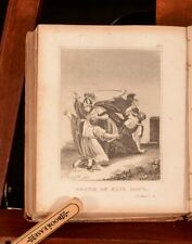 1826 I B Watkins Scripture History Illustrated Two Volumes in One Full Calf