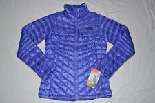THE NORTH FACE WOMENS THERMOBALL FULL ZIP JACKET STARRY PURPLE LARGE BRAND NEW