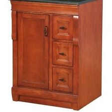Foremost FMNACA2418D Naples Warm Cinnamon Vanity Cabinet Only