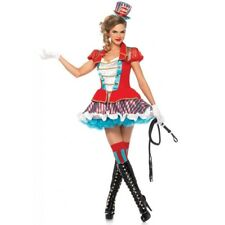 Ringmaster Adult Womens Circus Sexy Lion Tamer Fancy Dress Costume