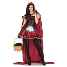 Little Red Riding Hood Halloween Fancy Dress Party Storybook Costume Outfit