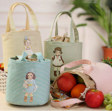 Tote Cooler Thermal Insulated Lunch Box Picnic Pouch Storage Portable Cute Bag