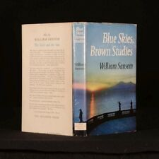 1961 Blue Skies Brown Studies by William Sansom First Edition Thus Illustrated