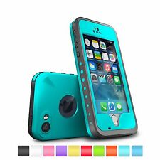 WATERPROOF DIRT-PROOF SHOCK-PROOF CASE COVER &Touch ID FOR APPLE IPHONE 5s 6 6s