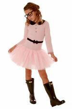 Pink & Black Ooh La La Courure Mary Jane Girls Tutu Dress w/Collar  NWT 6-14