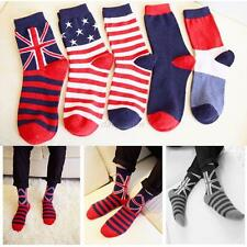 Men New Fashion Ankle Socks Low Cut Crew Casual Sport Color Cotton Socks 1 Pair