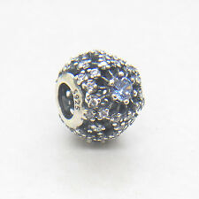 Authentic Genuine S925 Sterling Silver Cinderella's Wish CZ Charm Bead