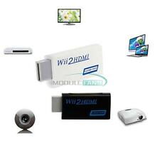 Full HD Wii To HDMI 1080P Upscaling Adapter Converter With 3.5 mm Audio Output M