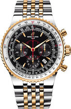 Breitling Montbrillant Legende 47mm Black Dial Two-Tone B2335021/BA25-TT