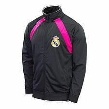 REAL MADRID TRACK JACKET  SOCCER  AUTHENTIC OFFICIAL RHINOX - NEW - SIZE XL