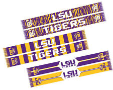 LSU Tigers Unisex Adult Woven Acrylic Knit Scarves