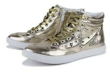 Fashion punk Mens casual studded  athletic high top sneaker shoes ankle boot new