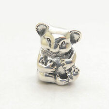 Authentic Genuine S925 Sterling Silver Koala Bead Charm #791951