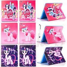 Cute My Little Pony Friendship Leather Case Cover For iPad Air Mini / iPad 2 3 4
