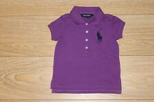 BRAND NEW AUTHENTIC RALPH LAUREN GIRLS BIG PONY POLO SHIRTS SIZE 2T 6