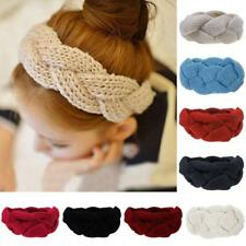 Women Crochet Headband Knit Hair Band Winter Ear Warmer Headwrap Hair Accessory